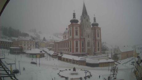 Blick auf den Mariazeller Hauptplatz